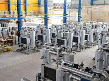 مهندسی، تامین، ساخت و راه اندازی 20 دستگاه Dryer برای جایگاه های سوخت CNG